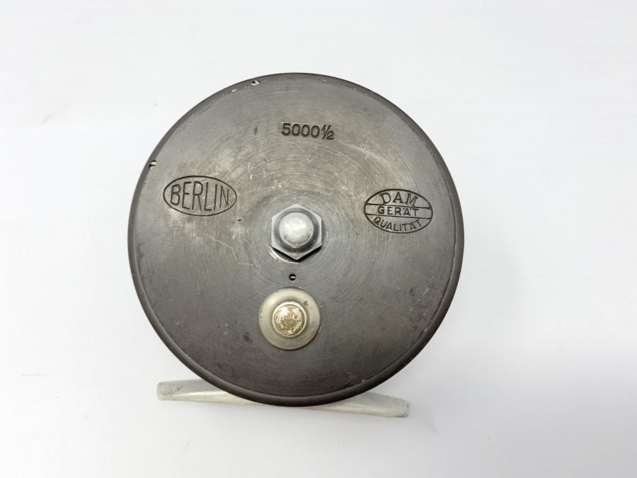 DAM Angelrolle, Berlin, 5000 1/2, Achatring, Linkshand, Gebrauchsspuren