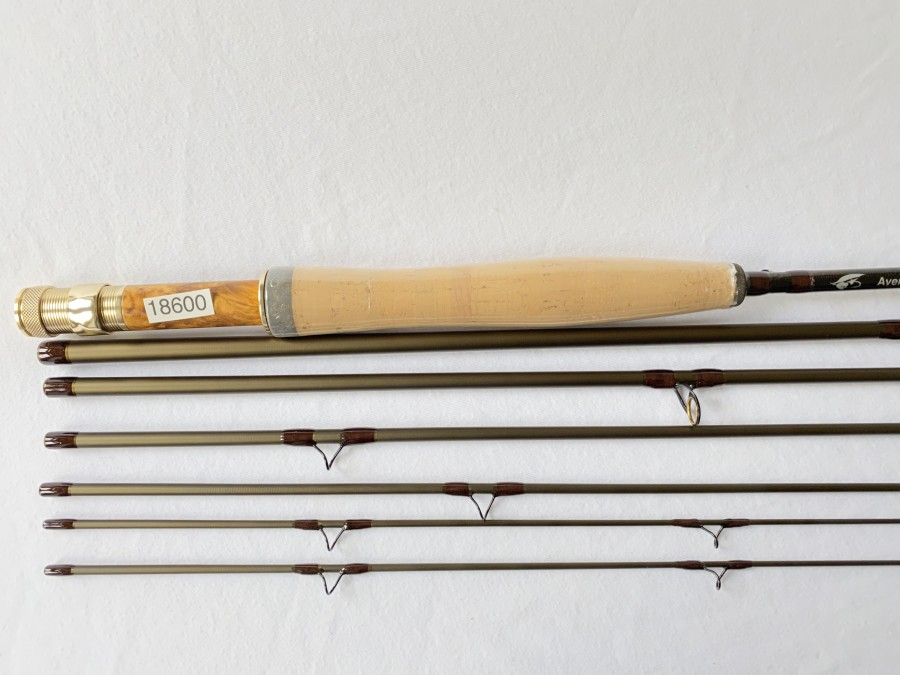 Fliegenrute, Aventik traveling, 6tlg., 8.6 ft, #4/5, Futteral und Cordurarohr, neu