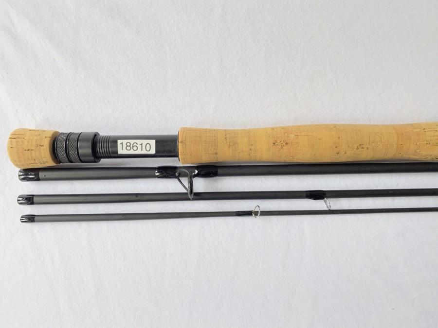 Fliegenrute, Loomis GL, FR1088-4, 4tlg., 9 ft., #8, Futteral und Codurarohr, leichte Gebrauchsspuren