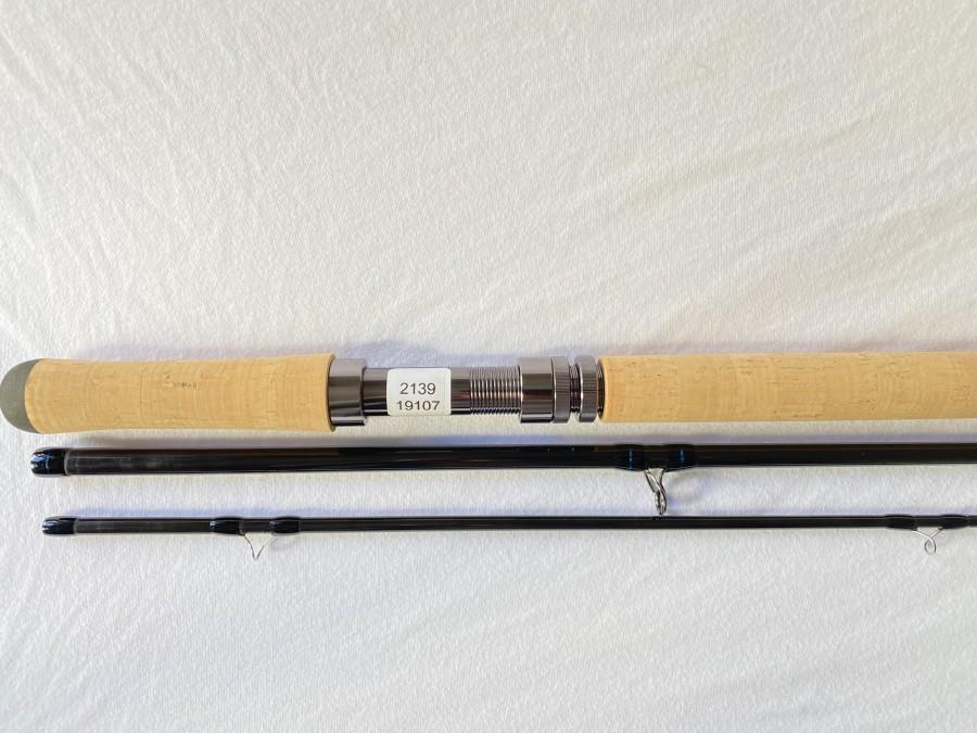 Zweihandfliegenrute, Sierra XDA, 3tlg., 12.6 Fuß, #9, Futteral, neu und ungefischt