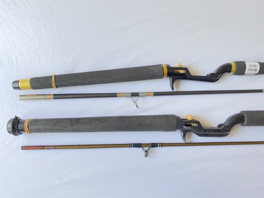 2 Spinnruten von ABU: Diplomat 662 Zoom, 2,10m, Wurfgewicht 10 - 30gr., ABU Garcia, 2tlg., 2,10m, Gebrauchsspuren