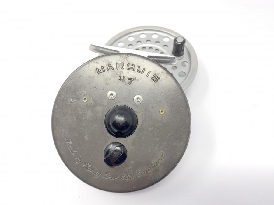 Fliegenrolle Hardy Marquis 7, Reservespule, technisch in Ordnung, Gebrauchsspuren