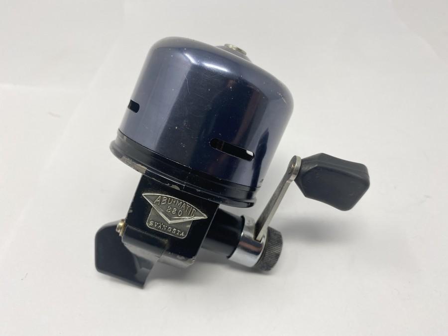 Kapselrolle, ABU - Matic 280, technisch in Ordnung, Gebrauchsspuren