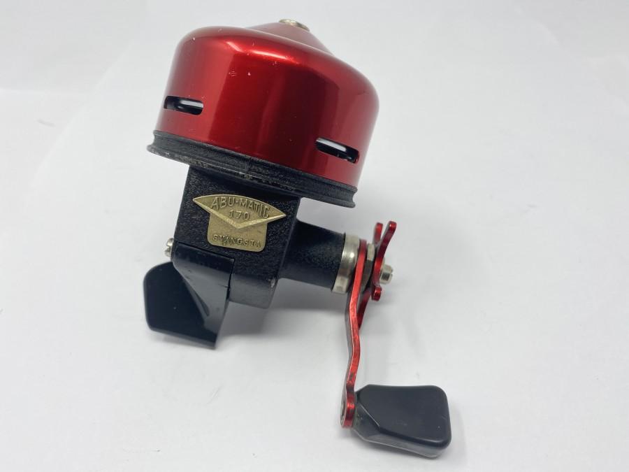 Kapselrolle, ABU - Matic 170, technisch in Ordnung, Gebrauchsspuren