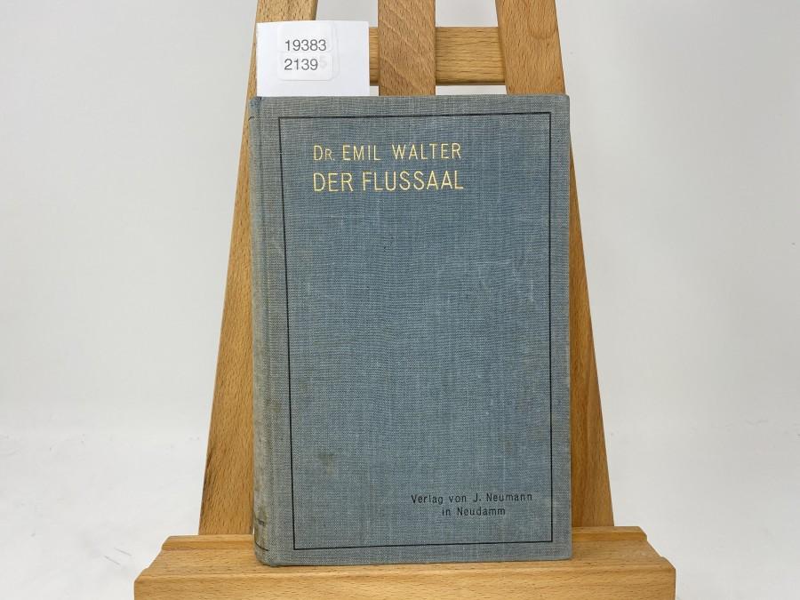 Der Flussaal, Dr. Emil Walter, 1910