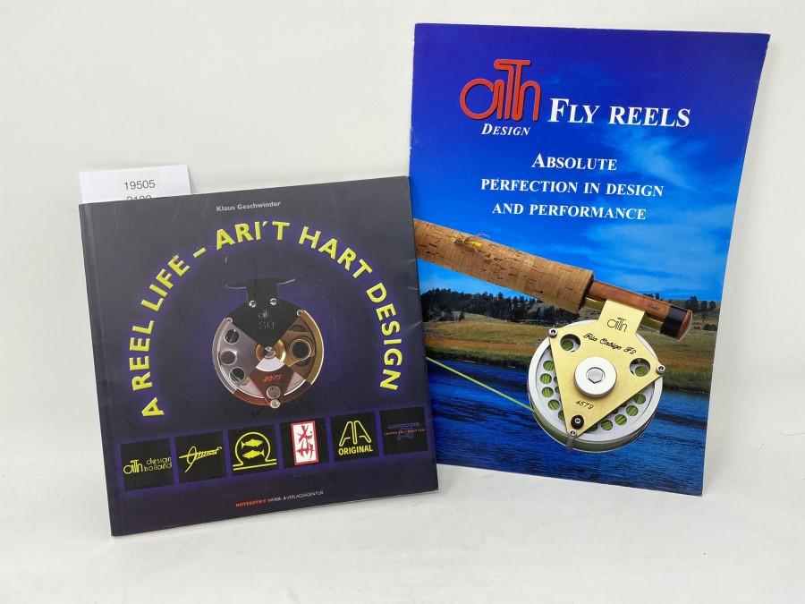A Reel Life - Ari´T Hart Design, Klaus Geschwinder,  ath Design Fly Reels