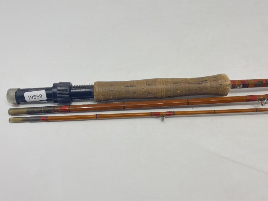 Gespliesste Fliegenrute DAM Sempt, Nr. 123, 3tlg., 2,85, Klasse 5/6, ohne Futteral, Gebrauchsspuren
