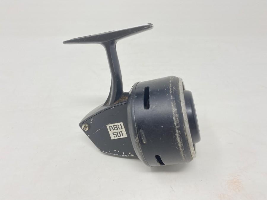 Kapselrolle ABU 501, Made in Sweden, technisch in Ordnung, Gebrauchsspuren