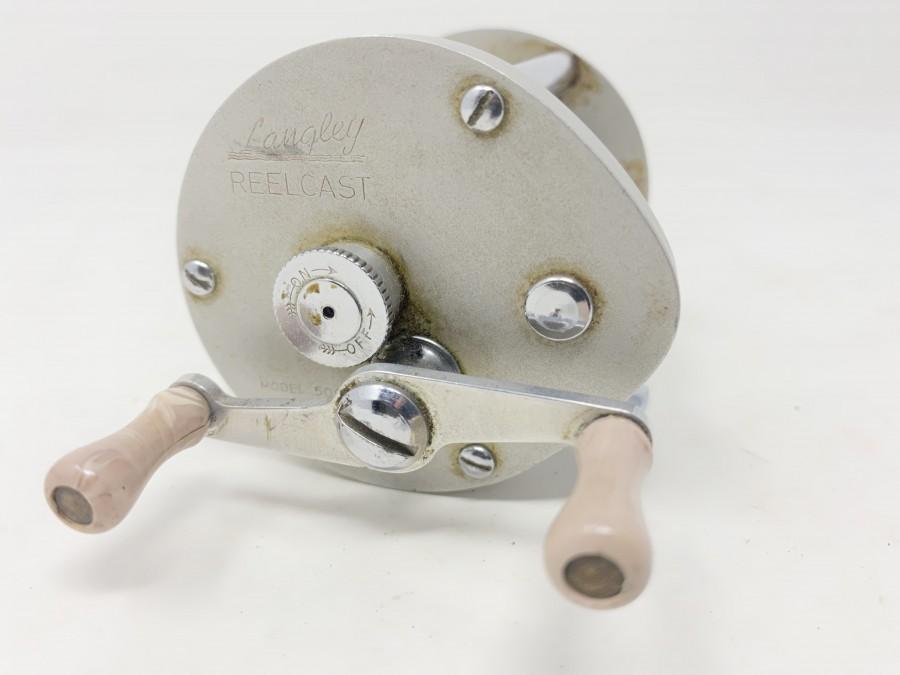 Multirolle Langley Reelcast, Modell 500, sehr gut, Gebrauchsspuren