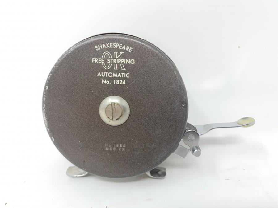 Fliegenrolle Shakespeare Automatic No. 1824, technisch gut, Gebrauchsspuren