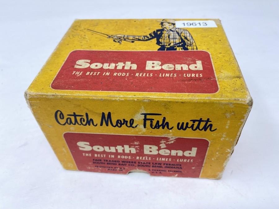 Box South Bend, für Multirolle SpinCast No. 1400, Gebrauchsspuren