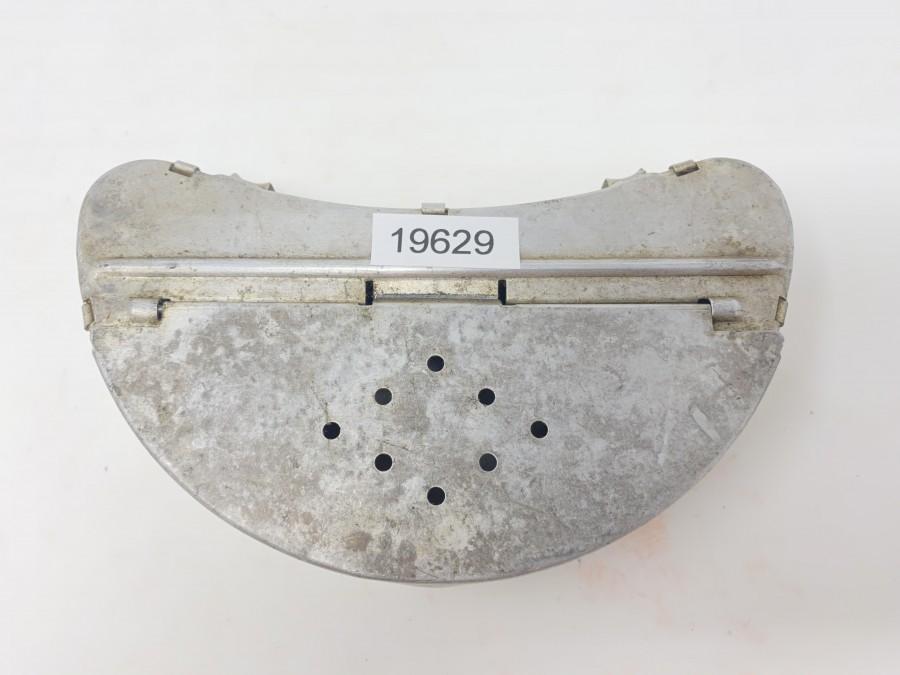 Köderbox, Alu, mit Gürtelhalterung