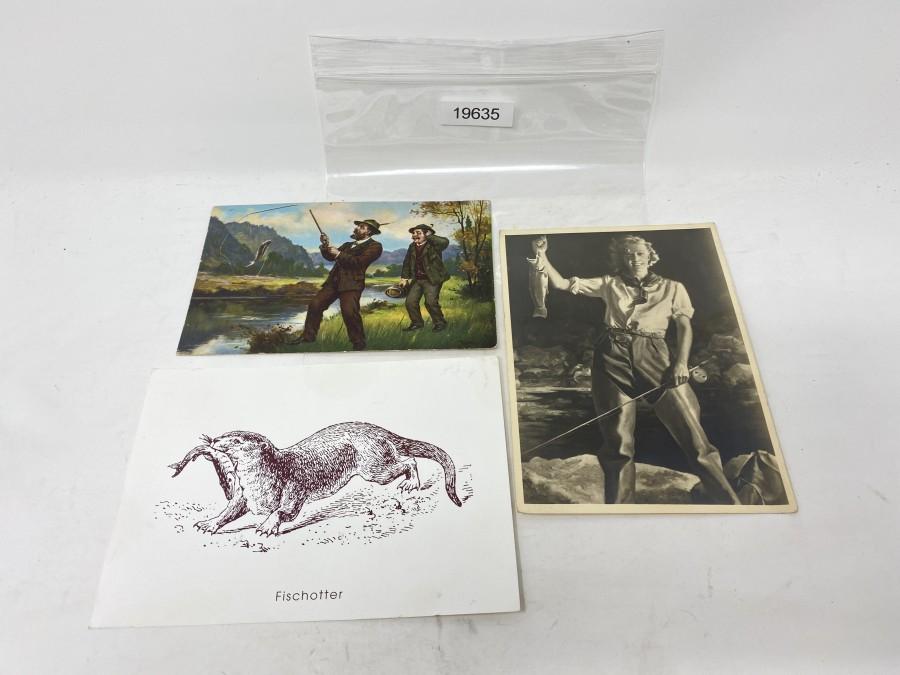3 Schöne Postkarten