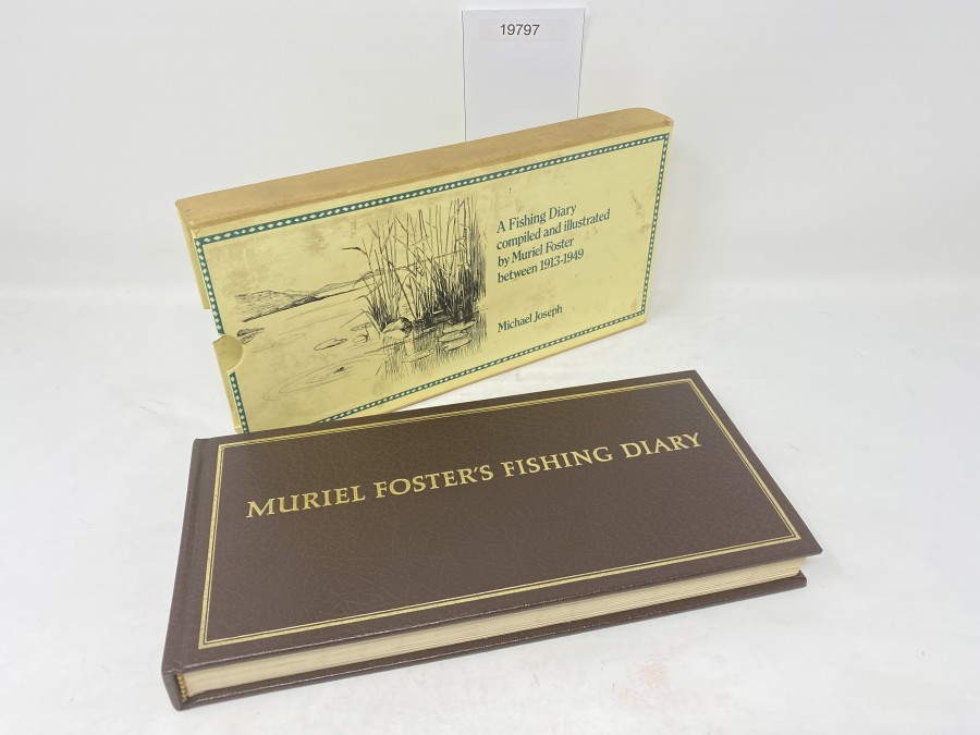 Muriel Foster´s Fishing Diary, 1980