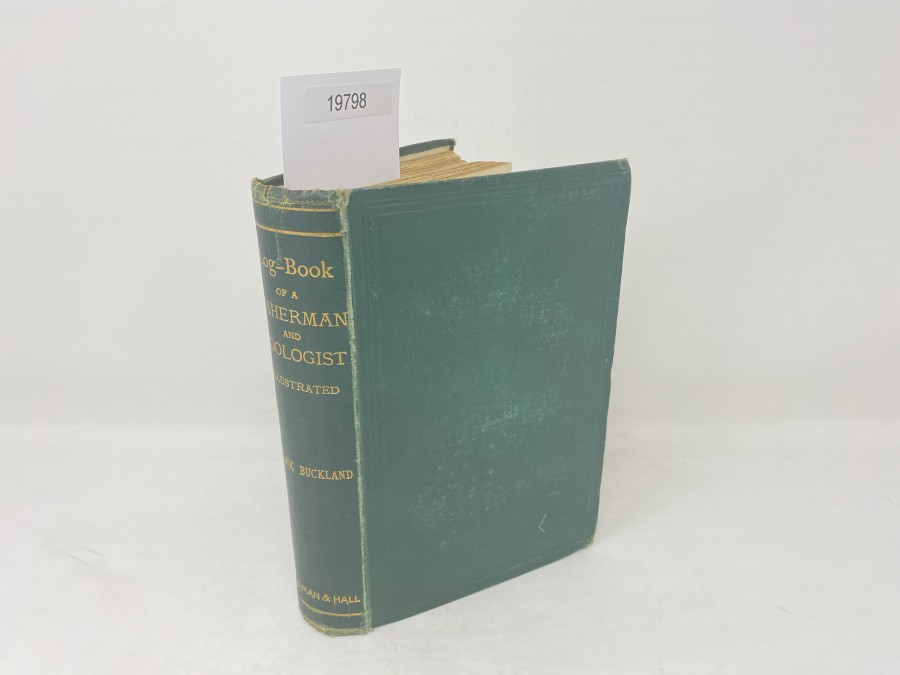 Log-Book of a Fisherman and Zoologist, Frank Buckland, 1876