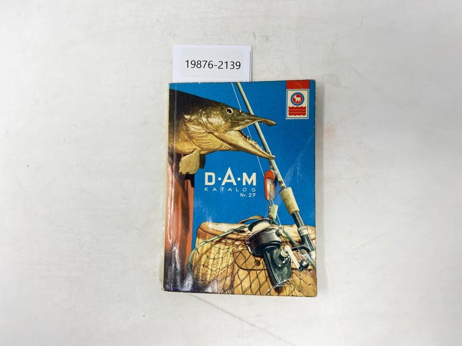 Katalog: D.A.M Katalog Nr. 27, 1962