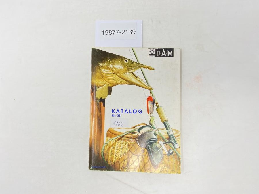 Katalog D.A.M Nr. 28, 1962