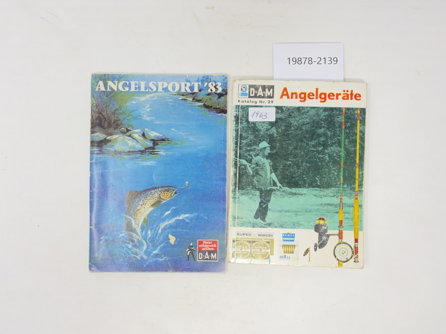Katalog D.A.M Nr. 29, 1963 und Angelsport '83