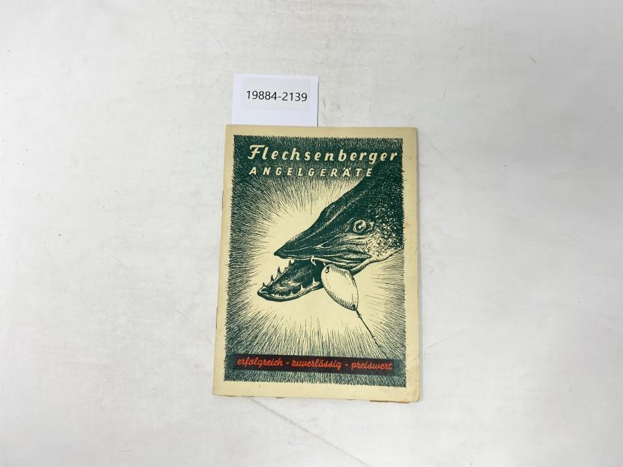Katalog: Flechsenberger Angelgeräte, 1951
