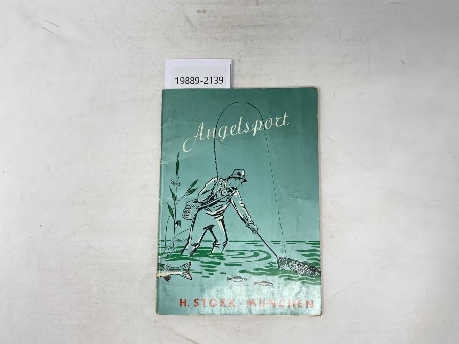 Katalog: Angelsport, H. Stork, München, 7/4