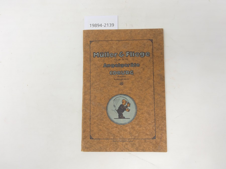 Katalog: Müller & Fliege G.m.b.H, Angelgeräte Coburg