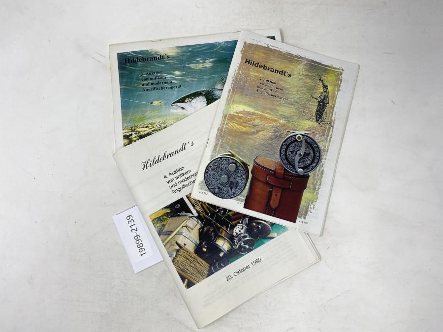 Auktionskatalog: Hildebrandt's 2. Auktion, 1998; 3. Auktion, 1999 und 4. Auktion 1999