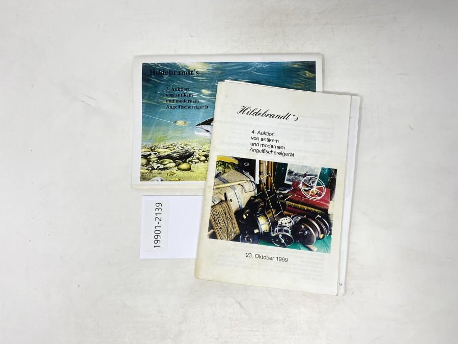 Auktionskatalog: Hildebrandt's 3. Auktion, 1999 und 4. Auktion 1999