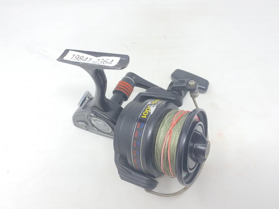 Stationärrolle DAM Quick 5001, Linkshand, technisch sehr gut, Gebrauchsspuren, sehr beliebte Rolle bei Karpfenangler