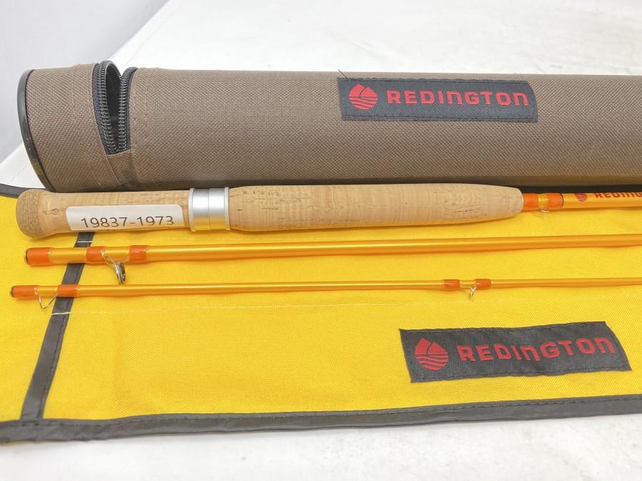 """Fliegenrute Reddington Butter Stick, 3tlg.,  6"""", Klasse 3, 360 - 3, Originalfutteral und Transportrohr, sehr guter Zustand"""
