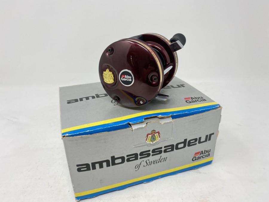 Multirolle ABU Garcia Ambassadeur 5500-C3, 2 Speed, neu und ungefischt, im Originalkarton