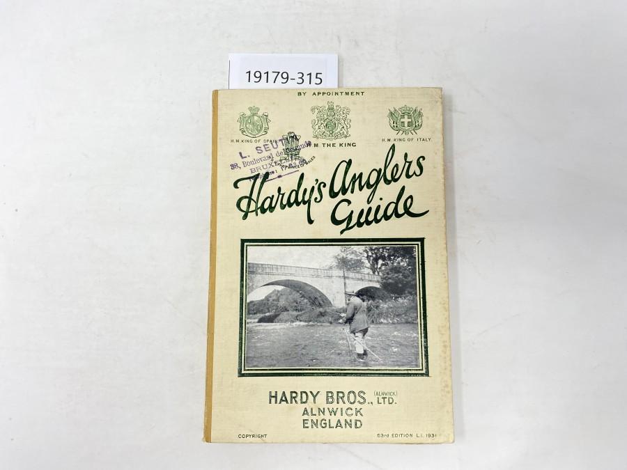 Katalog: Hardy's Anglers Guide, 1931