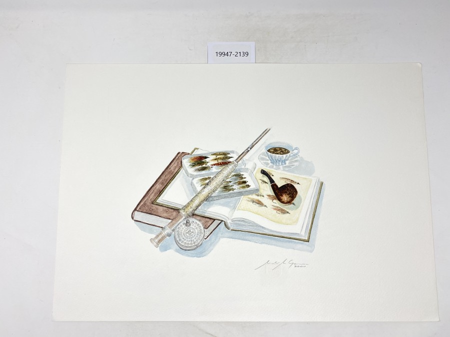 Aquarell von Maden Merkas Goranin, 2000, 500x350mm