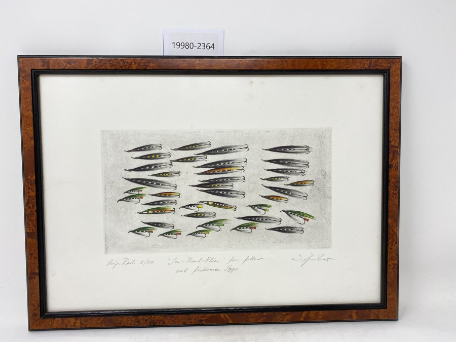 Bild: Sea Trout Flies for fellow and fisherman Sepp, Tambour, Österreich