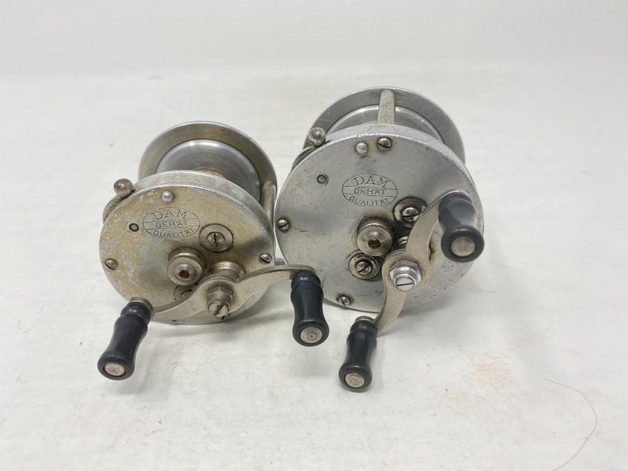 2 Multitrollen, DAM Ever Ready 3125, 66mm Durchmesser und DAM Ever Ready 3125, 55mm Durchmesser