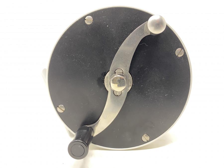 Lachsfliegenrolle, Rechts- oder Linkshand, leiser Klicker, ohne Bremssystem, Klasse 9, 370 gr, neu und ungefischt