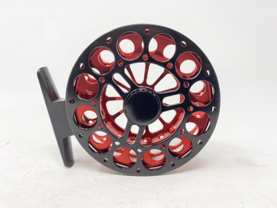 Kleine Centerpin Rolle, 80mm Durchmesser, 2 Griffen, läuft perfekt ab, ungefischt
