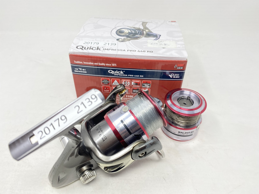 Stationärrolle, DAM Quick Impressa Pro 440 RD, neu und ungefischt