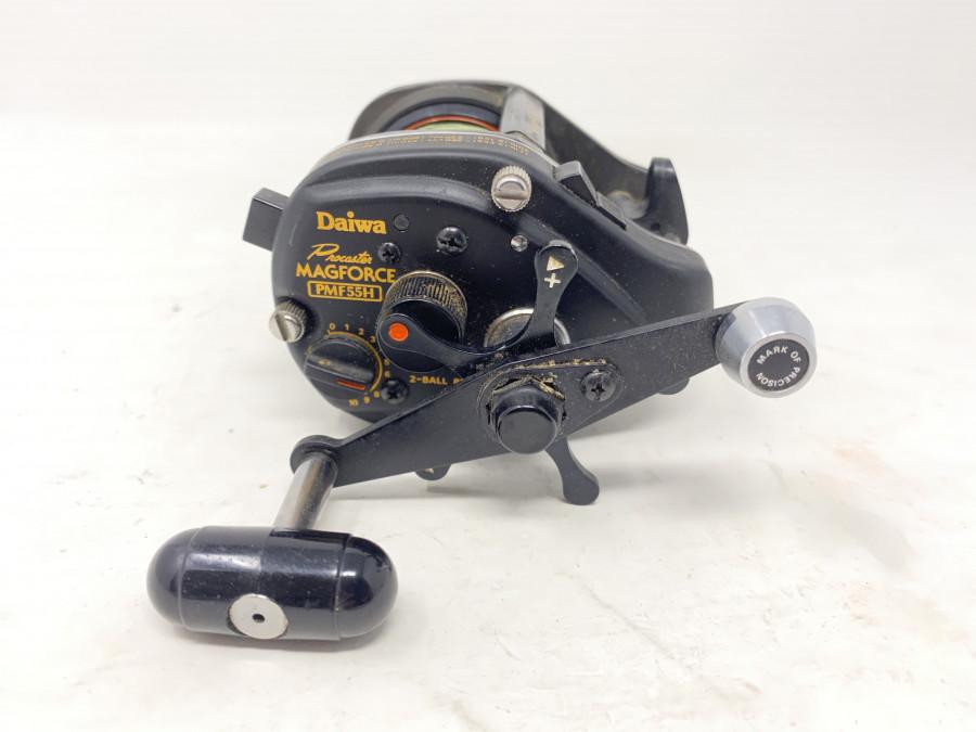 Multirolle, Daiwa Procaster  Magforce PMF55H, Gebrauchsspuren
