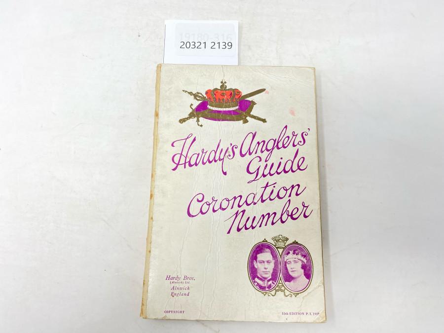 Katalog: Hardy's Anglers' Guide Coronation Number, 55 th. Edition P.I. 1937