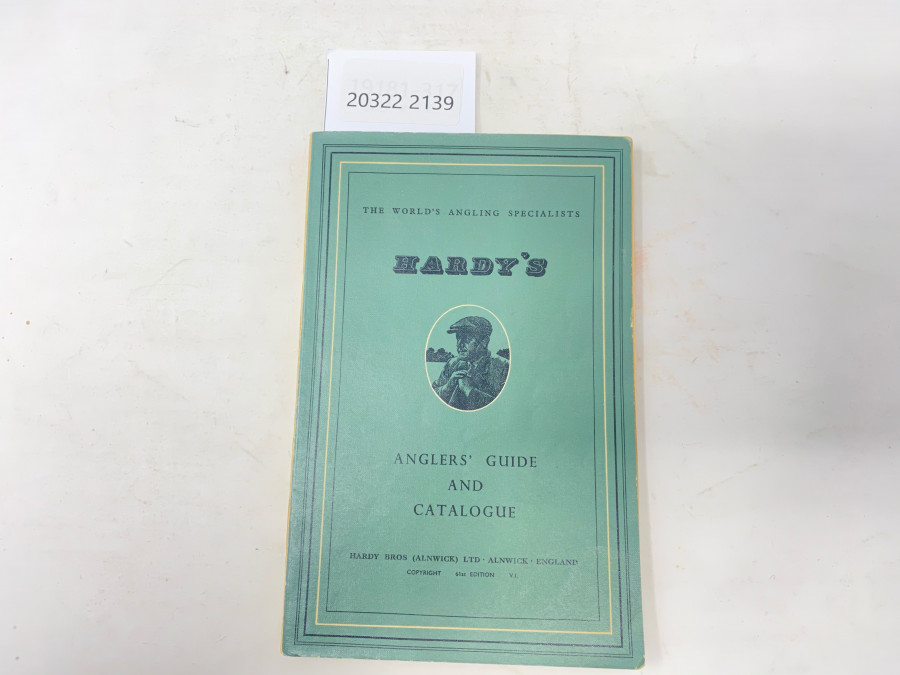 Katalog: Hardy´s Anglers´Guide and Catalogue, 1954, 61th Edition V.I