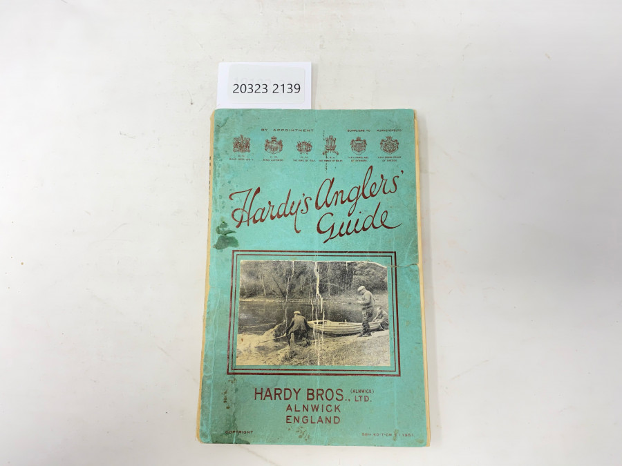 Katalog: Hardy´s  Anglers´Guide, 1951, 58th Edition S.I.