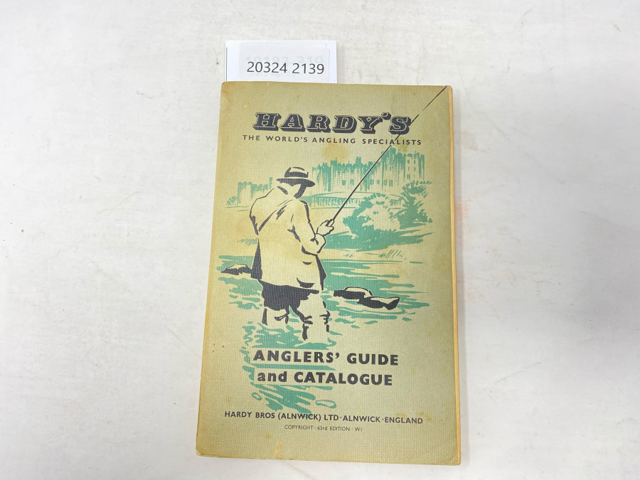 Katalog: Hardy´s The World´s Angling Specialists, Angler´s Guide and Catalgue, 1956-57,  63rd Edition -Wi