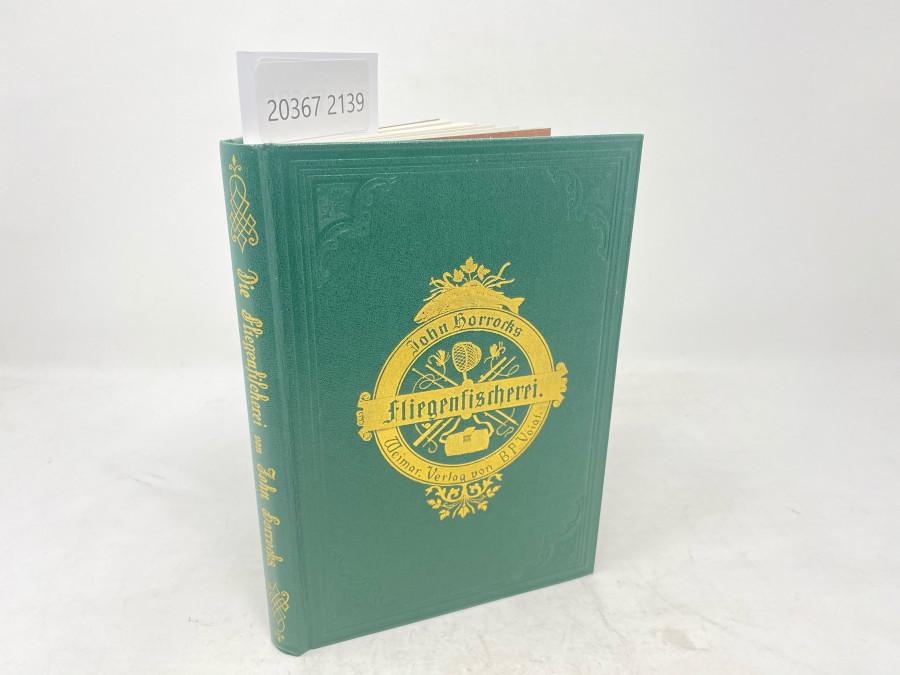 Die Kunst der Fliegenfischerei auf Forellen und Äschen, John Horrocks, Ex libris Dr. Michael Hofmaier, Nürnberg, 1982