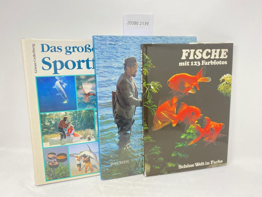 3 Bücher: Das große Buch vom Sportfischen, Göran Cederberg, 1989; Fische und Angler, Dausien, 1988; Fische mit 123 Farbfotos, Schöne Welt in Farbe, 1976