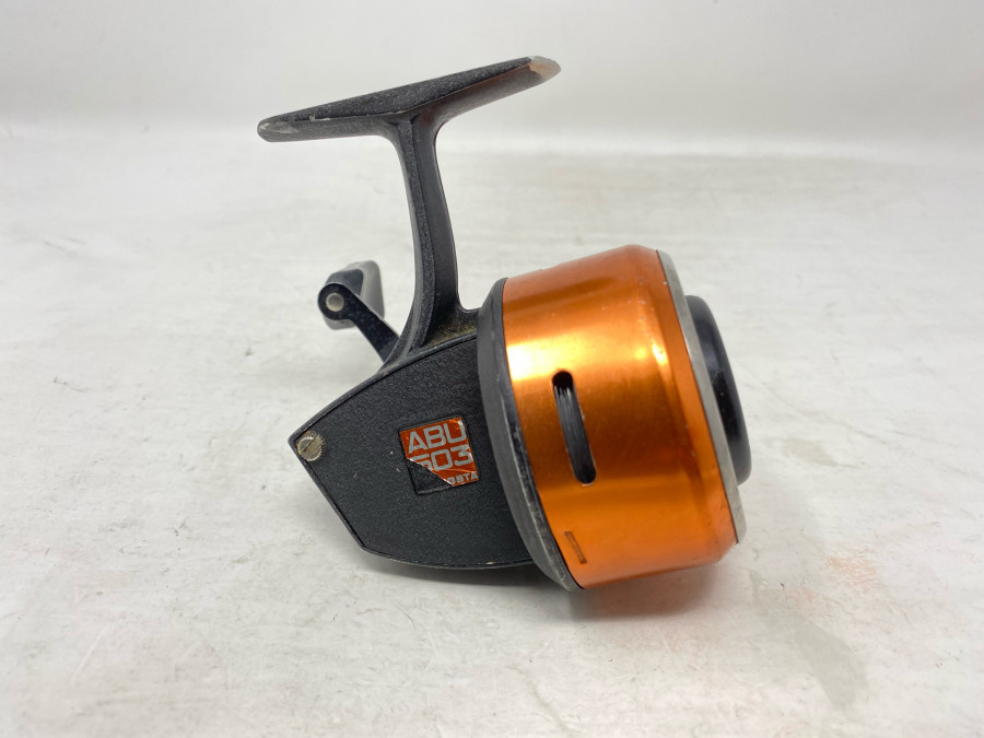 Kapselrolle, ABU 503, Svängsta, technisch gut, Gebrauchsspuren