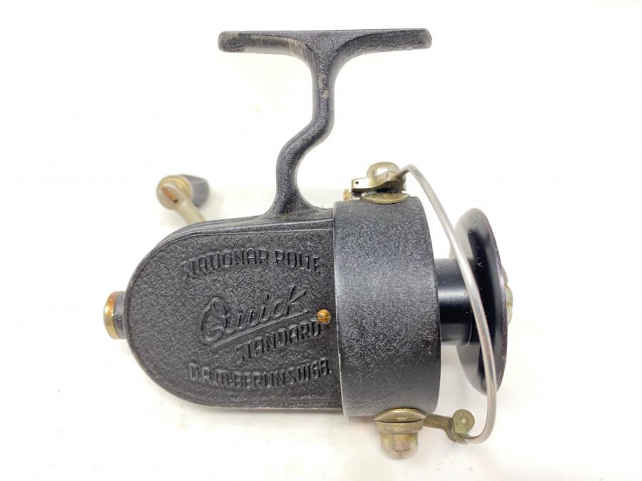Stationärrolle, Quick Standard, DAM Berlin SW 68, Gebrauchsspuren