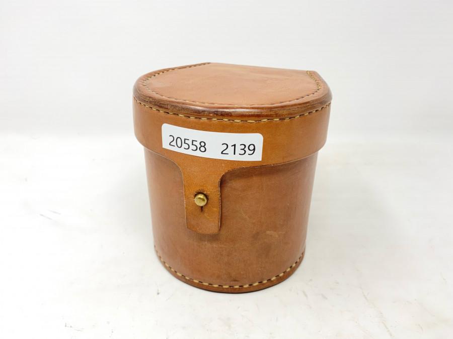 Blockleder Rollentasche, mit Schaffellfutter, für 80mm Rollendurchmesser, 90mm Rollenbreit, sehr schöne Arbeit