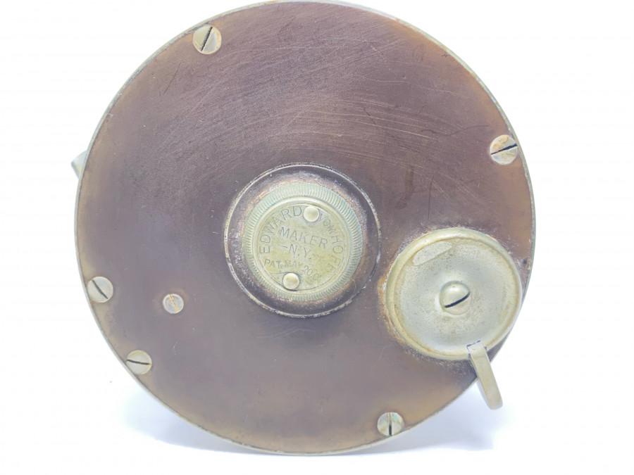 Multirolle, Edward vom Hofe Maker N.Y., Markierung auf Rollenfuß BUD 621, German Silver/Hartgummi, technisch hervorragend, Gebrauchsspuren