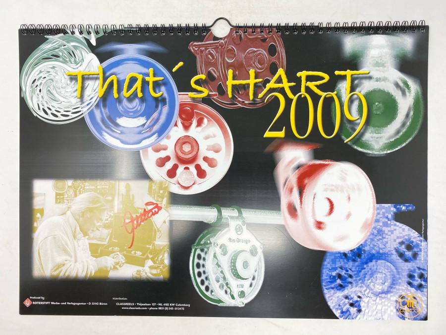 Kalender: That's Hart 2009, von Ari signiert, guter Zustand, sehr selten