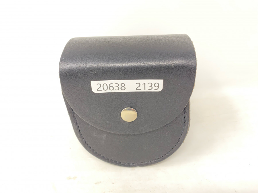Lederrollentasche, für Rollen mit 90 mm Durchmesser und 80mm Rollenbreite, neu